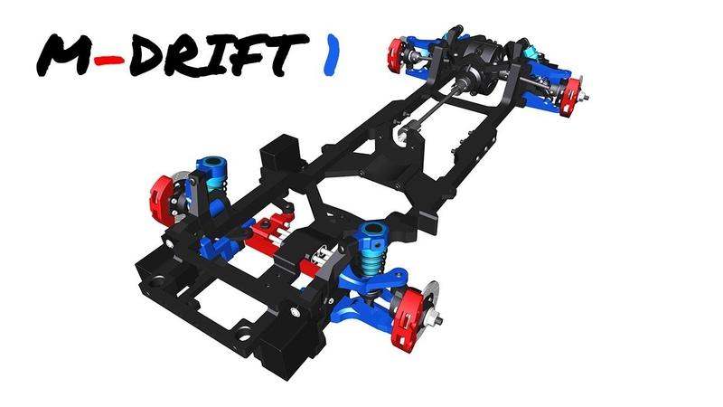 Instructions | DDW 110 RC M-Drift 1 RWD Chassis