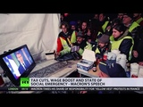 'Nice speech, but I don't trust him' Yellow Vests react to Macron's address - YouTube