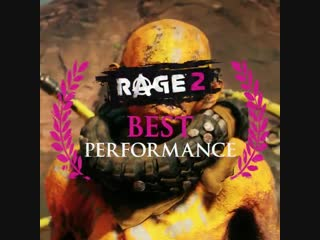 Please consider RAGE2 for Best Performance at TheGameAwards.