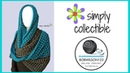Crochet oversized cowl tutorial