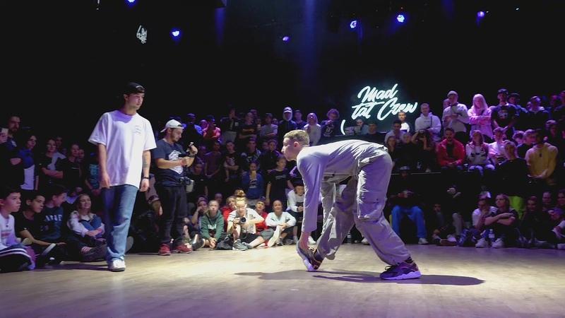 Fred vs Mojito Hip Hop Vibe 2018 QUARTERFINAL 1vs1 | Danceproject.info