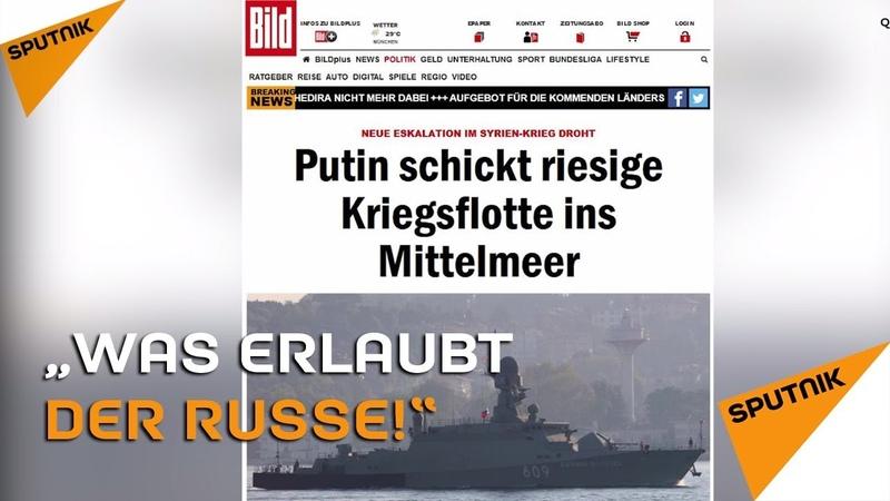 """""""Was erlaubt sich der Russe!"""" – Springerpresse wegen russischer Marine in Panik"""