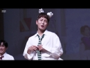 FANCAM 19.08.18 Donghun Take Me Higher cute ver. @ 16th fansign CTS Art Hall