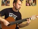 Believer - Imagine Dragons (guitar solo cover уроки гитары Киев