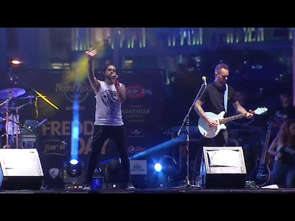 Freddie Mercury 'celebra' sus 72 cumpleaños en Madrid