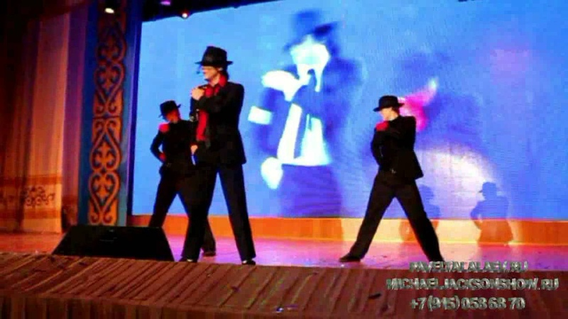 Michael Jackson Impersonator number one in RUSSIA-PAVEL TALALAEV