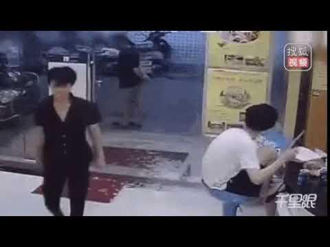 Ограбление в Китае под музыку В. Цоя