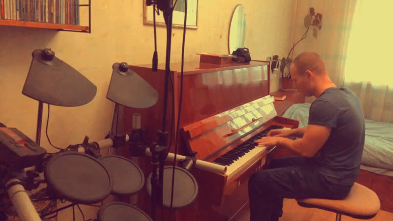 Kazka- Плакала (Eugeny Safronov piano cover)