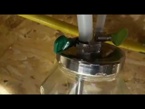 Сухопарник барботер Урал из нержавейки для самогонного аппарата в виде крышки под банку