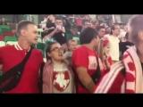 Кто не скачет - тот москаль на матче сборной Беларуси в Минске.
