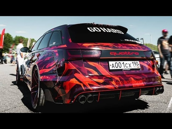 World's First Audi Allroad RS Quattro Widebody (A6 C7)