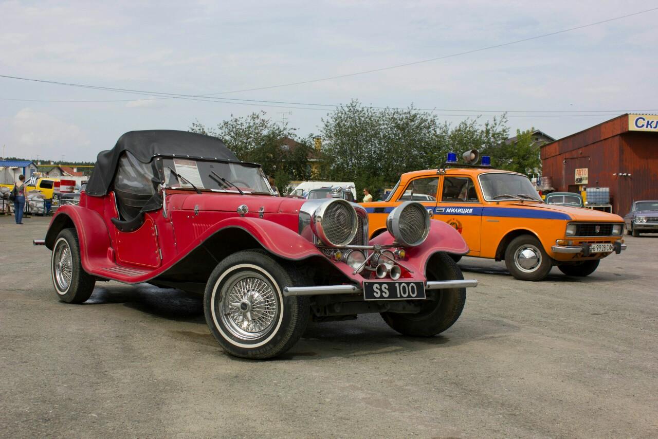 В музее ретро-автомобилей близ Кольцово