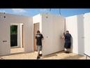 Немецкий каркасный дом за 3 дня своими руками. Пошаговая инструкция