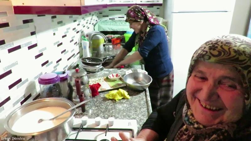 Sütlü çorba oldumu sana sütlaç sohbet muhabbet dolu bir vlog sizlerle