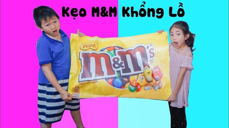 Đồ Chơi Trẻ Em Kẹo MM Khổng Lồ - Bài Học Cho Bé ♥ Xam Xam TV