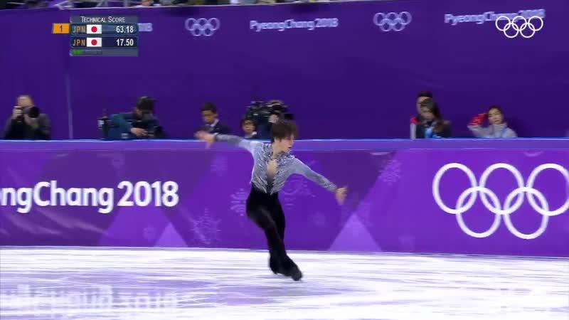 1年前の今日 宇野昌磨 選手は自身初となったオリンピック2018平昌フィギュアスケート男子シングルショートプログラムで3位につきました - - Olympics 1YearOn PyeongChang2018