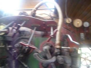 В кабине пассажирского паровоза СУ 250-74.