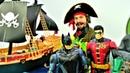 Супергерои Бэтмен и Робин ищут Бэйна Видео с игрушками