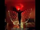 Пиксельные крылья c крнтуром пиксельная перьевая корона от DanceLed