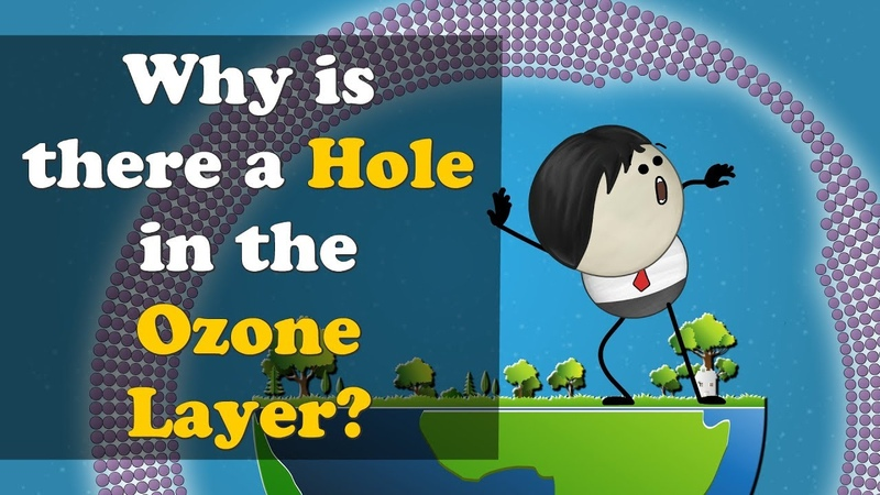 Why is there a Hole in the Ozone Layer | aumsum kids education