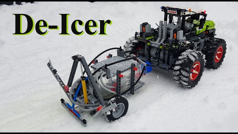 De-Icer Lego Technic 42054 Claas Xerion 5000 Trac VC