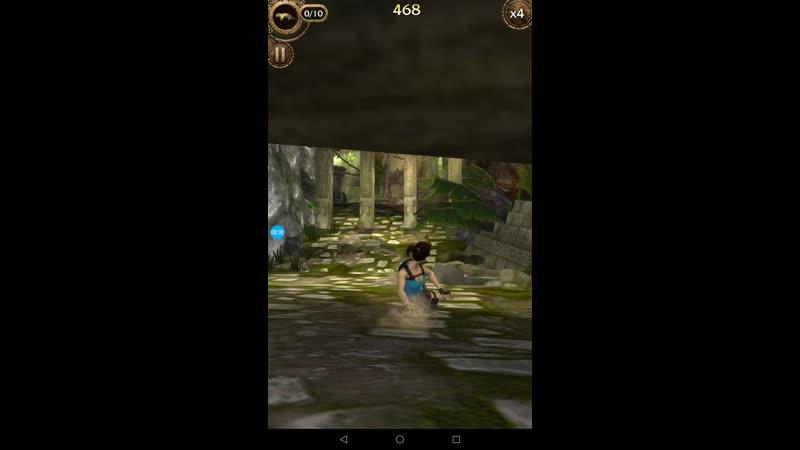RR 10, 3 раз, уровень 16 L, игра бег, Лара крофт, RELiC RUN, Lara croft, mobile tablet планшэт телефон Android ios