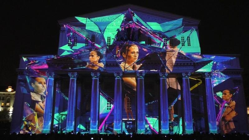 Фестиваль Круг света 2018 Видеокомпозиция Небесная механика Россия