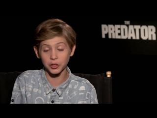 Jacob Tremblay  Boyd Holbrook On Why Fans Of The Original Will Enjoy The Predator - TIFF 2018