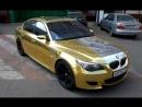 Фильм о BMW M5 E60 GOLD