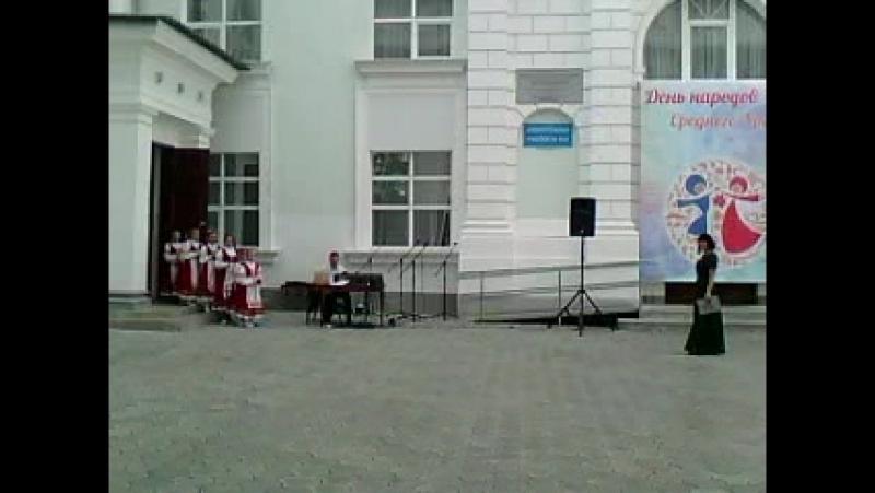 Праздничный концерт в день народа Среднего Урала 8.09.2018 г. Асбест