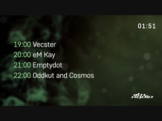 Vecster and eM Kay / Cosmos and Oddkut - Live @ Nuke Lab / Vibe (23.11.2018)