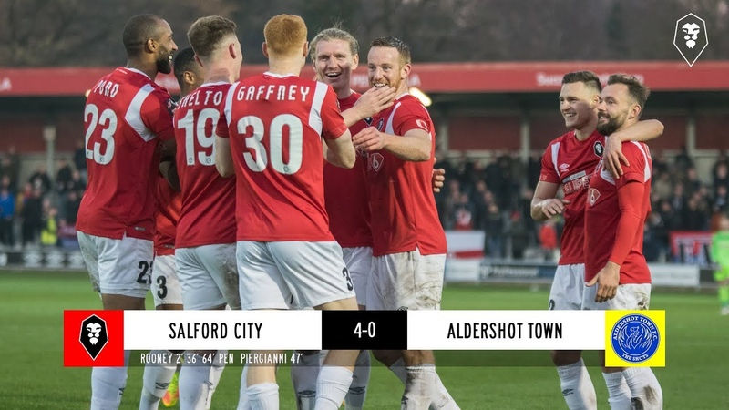 Salford City 4 0 Aldershot Town The National League 17 11 18