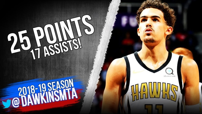 Trae Young Full Highlights 2018.11.19 Hawks vs Clippers - 25 Pts, 17 Asts! | FreeDawkins