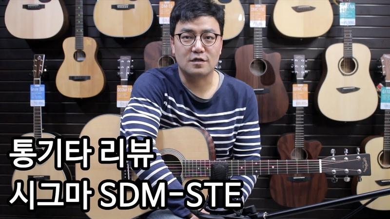 [통기타 리뷰] 올솔리드기타 시그마 SDM-STE By 통기타이야기