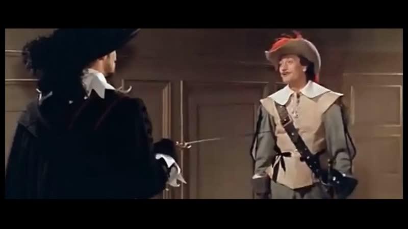 Три мушкетера 1 и 2 серии Франция Италия 1961 Фильм дублирован Центральной студией киноактера Мосфильма
