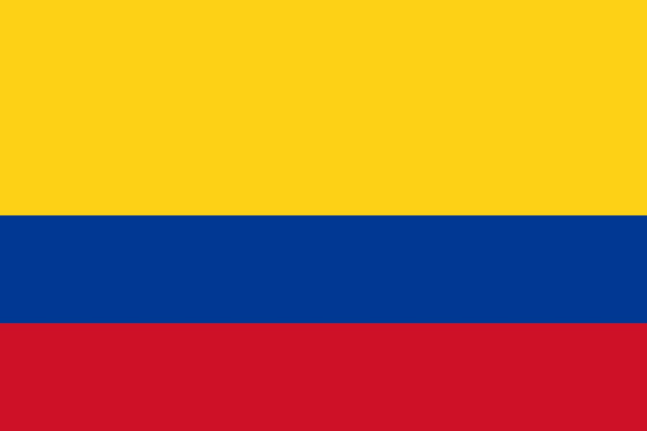 Флаг Колумбия