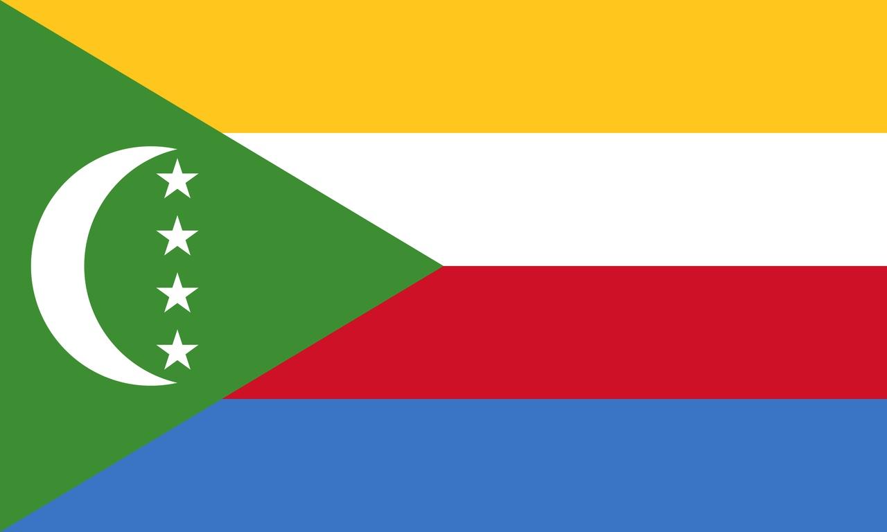 Флаг Коморы