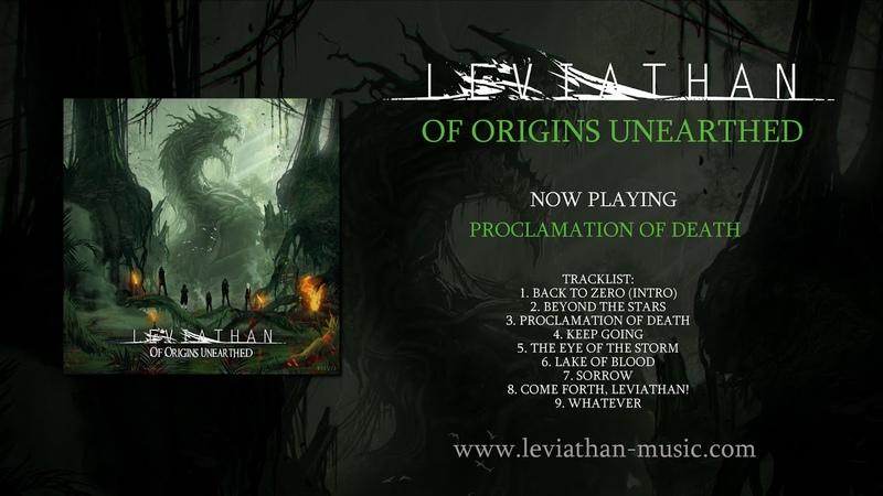 Leviathan (DE) - Of Origins Unearthed (Full Album) [German Melodic Death Metal] OfOriginsUnearthed