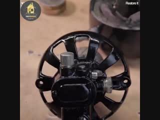 Реставрация старого вентилятора - отличная работа - vk.com/bg.remont