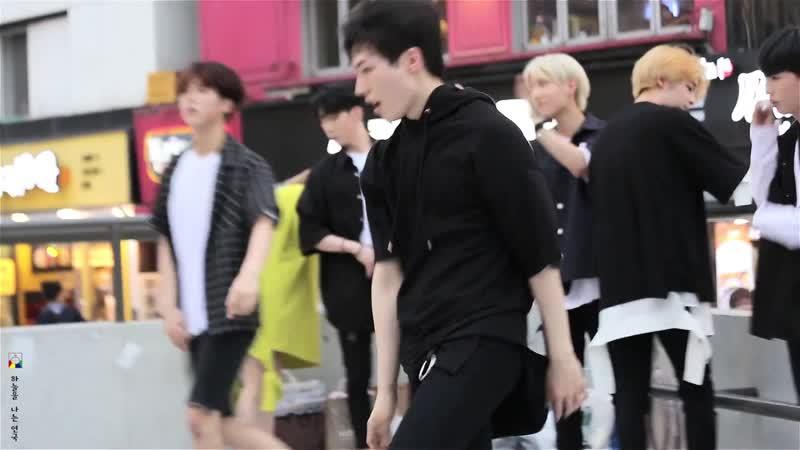 [27.07.17] Noir. Hoyeon and Minhyuk. Dance cover.