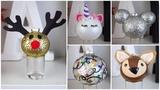 7 CHEAP &amp EASY DIY CHRISTMAS ORNAMENTS PINTEREST INSPIRED