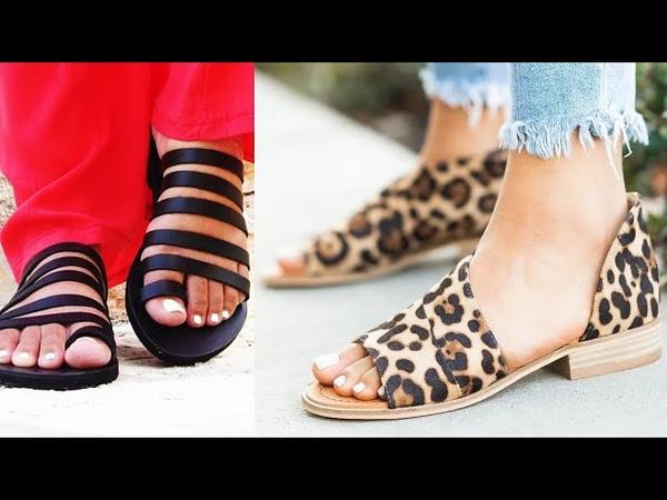 ZAPATOS, SANDALIAS URBANAS 2019 | Calzado Planos Cómodos, Bonitos Tendencia Primavera Verano 2019