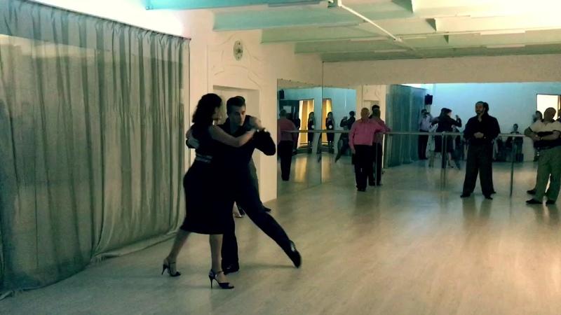 Yury Shtykin Natalia Molokova 2/3 | Tango Maximo, Voronezh 30.09.2017