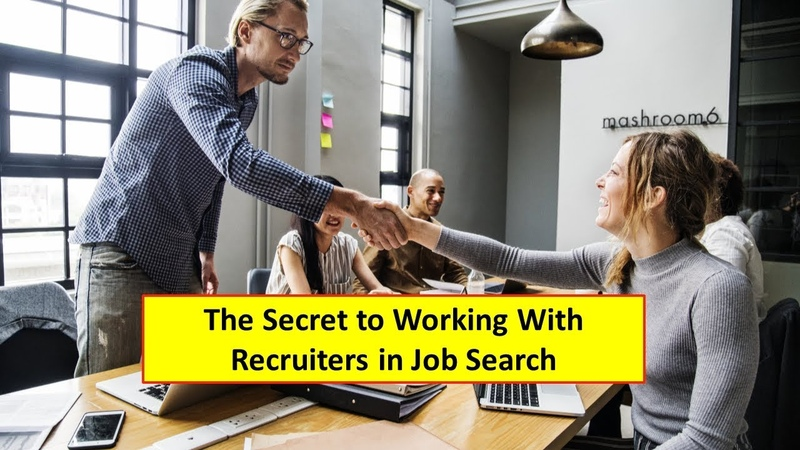 Do not work with a lot of Job Recruiters - Working With Recruiters in Job Search