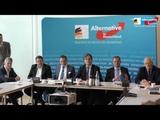 Presse fragt, AfD Antwortet zur SPD, AfD Pr