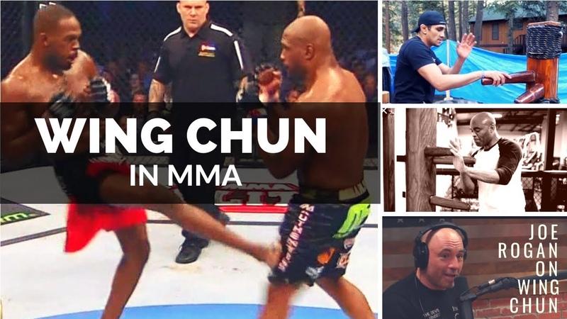 Wing Chun in MMA UFC - (Tony Ferguson, Anderson Silva, Jon Jones)