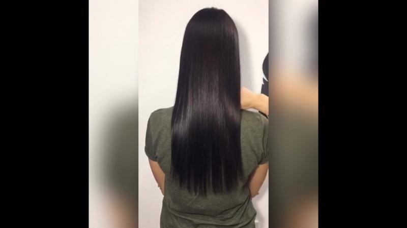 Ботокс волос от Александры для красавицы🎊 Прелестный результат🙌🏻