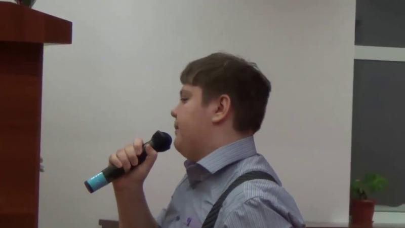 Пуликов Павел Художественное слово Огромное небо ( 23 декабря 2016 года)