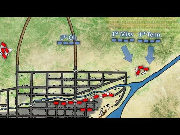 La Batalla de Monterrey 1846 (mapa de batalla animado)