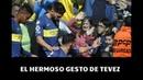 El hermoso gesto de Carlos Tevez con un nene que emociona